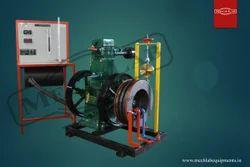 Single Cylinder Four Stroke Slow Speed Diesel Engine Test Rig