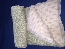 Mint Green Baby Quilt