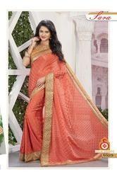 Desi Stylish Designer Party Wear Saree