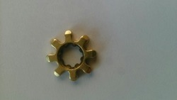 Gear With Profile In Hole