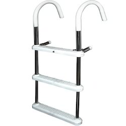 Aluminum Straight Pipe Hook Ladder