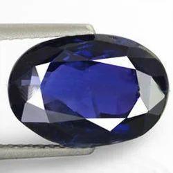 5.44 Carats Blue Sapphire