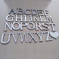 Alphabet Acrylic Letter