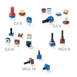 Potentiometers for Timers