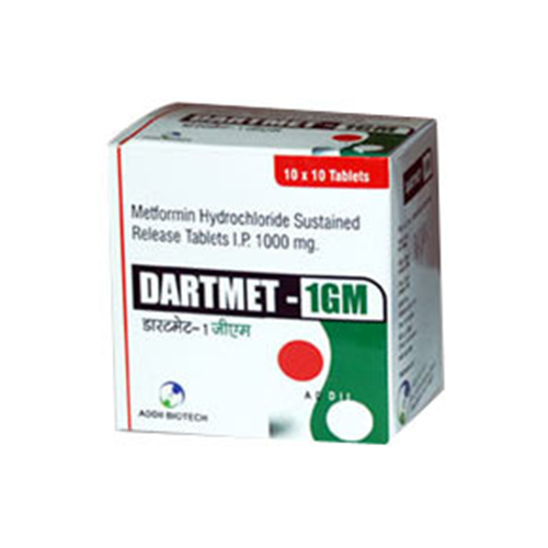 Sustained release tablets for diabetes