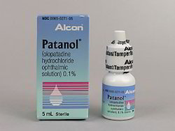 Patanol - 0.1% (5 ml ) Eye Drop