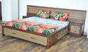 Wood Bed Designer Bed