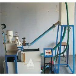 Hydraulic Ram Test Setup