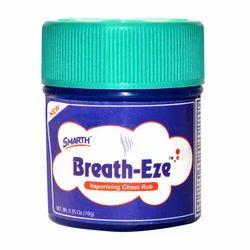 Breath-Eze Vaporizing Chest Rub 0.35 Oz (10g)
