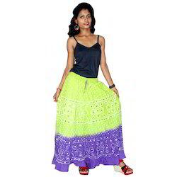 Jaipuri Bandhani Skirts