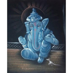 Painting Of Ganesh Blessing