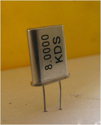 Crystal Oscillator Circuit Microcontroller