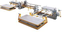 Automatic Longtudinal & Transverse Double Sizer Machine