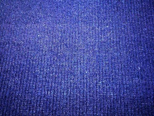 Knit Indigo Denim Rib Fabric