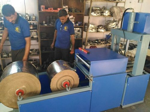 Paper Thali 4 Roll Making Machine