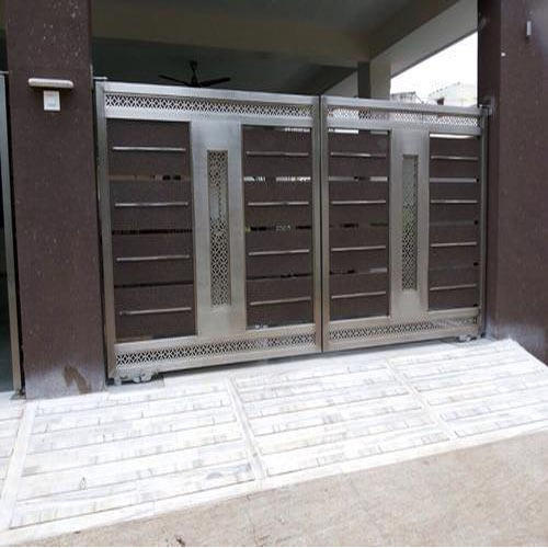 Stainless Steel Gate Ss Gate Manufacturer From Surat
