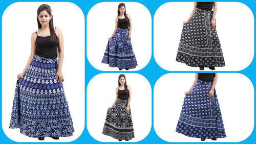 Cotton Rapron Skirt