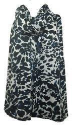 Leopard Voile Print Scarves