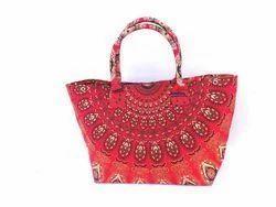 Handmade Cotton Mandala Bag