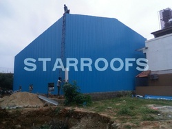 Industrial Warehouse Roofing shed