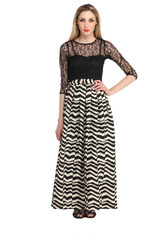Women's Casual Printed Maxi Dress