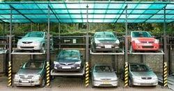 Electronic Car Parking Structures