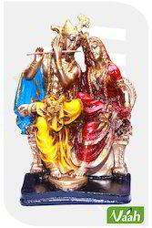 Vaah Resin Radha Krishna Statue