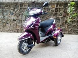 Side Wheel Attachment for Activa