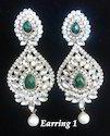 Designer Wedding Pearl Earrings