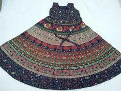 Rajasthani Print Frock & Dress