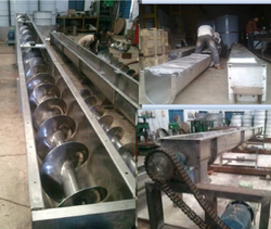 Industrial U Trough Screw Conveyor