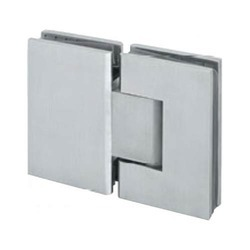 Glass To Glass 180 Degree Shower Hinges