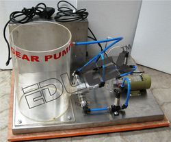 Gear Pump Demonstration Unit