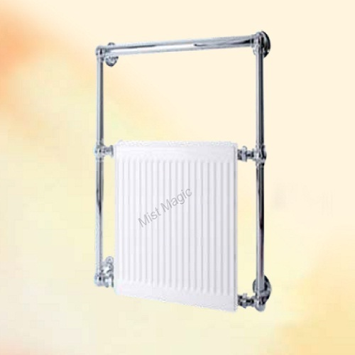 bathroom heater with heated towel rack