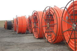 Coated HDPE Pipe