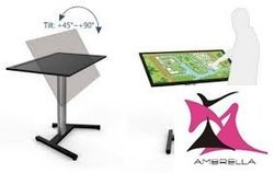 Monitor Touch Screen Cart