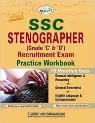 SSC Stenographer Recruitment Exam Practice Workbook Grade