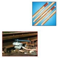 Earthing Rod for Railway