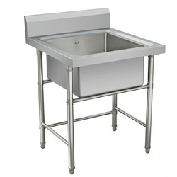 Kitchen Sink Table - Stainless Steel Sink Table Manufacturer from Pune