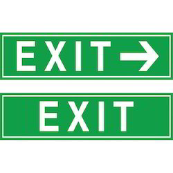Exit Symbol Signage for Mall