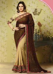 Fancy Wedding Embroidery Saree