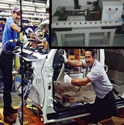Shocker Dismantling Machine for Automotive Industry