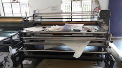Roll To Roll Sublimation Heat Transfer Press