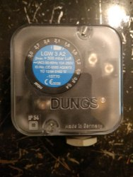 Dungs Pressure Switch LGW 3 A2