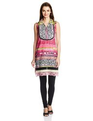 Fashionable Printed Short Tunic