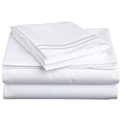 White Bed Sheet Fabric