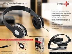 Folding Stereo Headphone