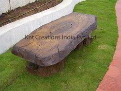 FRP Log Sitting Bench