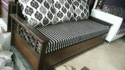 Woodan Sofa Cum Bed