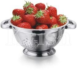 German Colander with Strawberry Cutting
